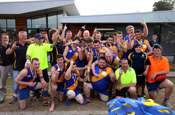 The FIDA premiers. The Seagulls. Photo by Col Newcombe. .