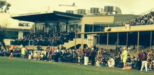 There was a good crowd at Leederville Oval but some Subi supporters were wondering why their players Dom Sheed and Callum Sinclair were playing for East Perth.