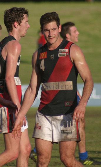 2015 Sandover Medal winner Aidan Tropiano (Perth). Photo by Les Everett