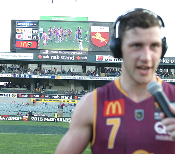 Sam Menegola has become the WAFL's most outstanding player.